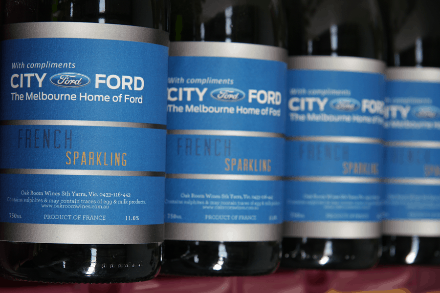 Melbourne City Ford and Oak Room Wines join forces...