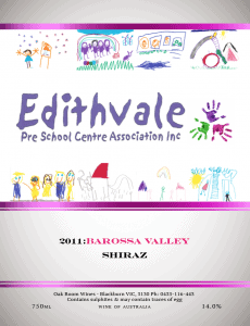 Edithvale PreSchool Wine Fundraiser with Oak Room wines