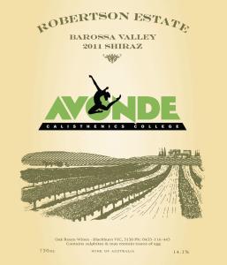 Avonde Calisthenics Wine Fundraiser