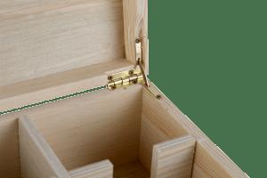 3x Three Bottle Timber Wine Gift Box