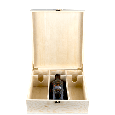 3x Three Bottle Timber Wine Gift Box