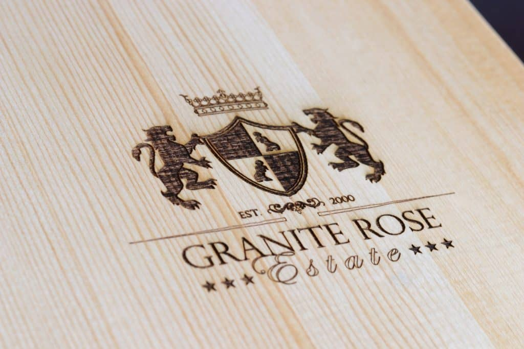 Laser Engraved Wine Gift Box