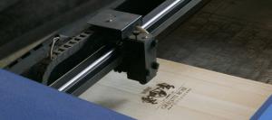 Triple Laser Engraved Laser Engraving Timber Wine Box