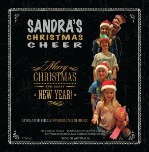Sandra's Christmas Cheer Sparkling Shiraz