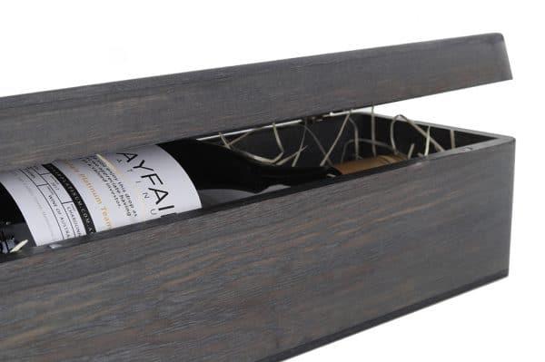 Burnt Ash Single Wine Magnetic Gift Box_Oak Room WinesIMG_2497