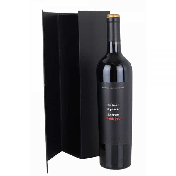 Black Magnetic Premium Wine Gift Box