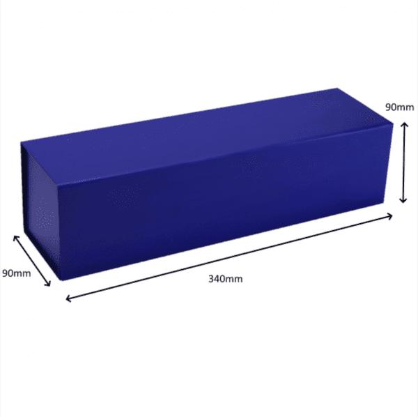 Blue Premium Single Wine Gift Box1