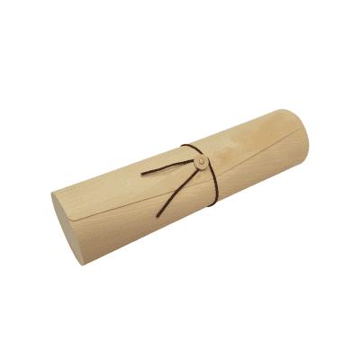 Premium Birch Timber Cylinder Wine Gift Tube